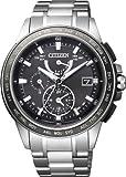 [シチズン]CITIZEN 腕時計 ATTESA アテッサ Eco-Drive エコ・ドライブ 電波時計 ダブルダイレクトフライト 針表示式  マスコミモデル AT9024-58E メンズ