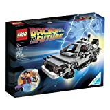 LEGO The DeLorean Time Machine from Back To The Future with Doc Brown & Marty McFly Minifigures and Accessories by LEGO [並行..