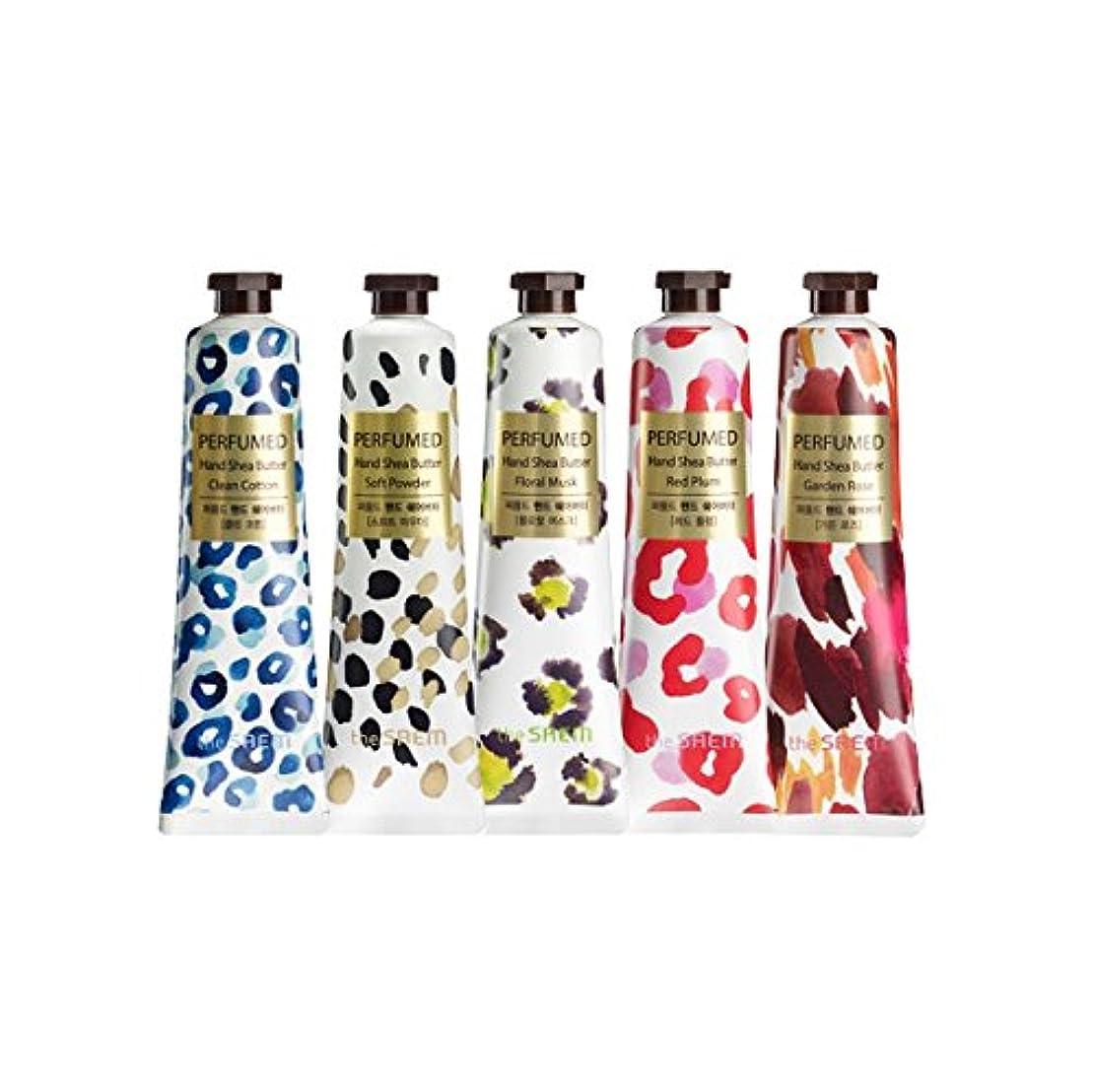 識別寸前スピンtheSAEM ザセム パヒューム ハンド クリーム シアバター PERFUMED HAND CREAM SHEA BUTTER 韓国コスメ (A-Floral Musk(フローラルムスク))