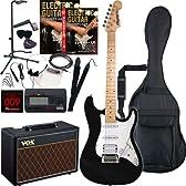 Rayfield レイフィールド エレキギター サウンドステーションオリジナル RST-320M/BK 初心者入門VOXセットアンプ