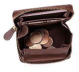 プラスエイチ(Plus H) 小銭入れ ボックス型コインケース パス入れ ミニ財布 オールインワン PH8062 (トープ)