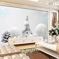 Yosot 3Dの写真の壁紙の不織布の背景の壁紙のリビングルームテレビウォールソファヨーロッパの冬の雪の壁紙の壁画がある。-300Cmx210Cm