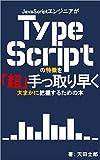 JavaScriptエンジニアがTypeScriptの特徴を「超」手っ取り早く大まかに把握するための本