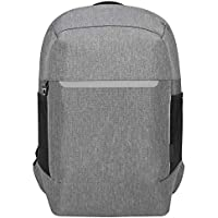 Targus CityLite Pro Modern Security Backpack Designed for Stylish Professional Commuter fit up to 12-15.6-Inch Laptop/Notebook, Grey (TSB938GL)