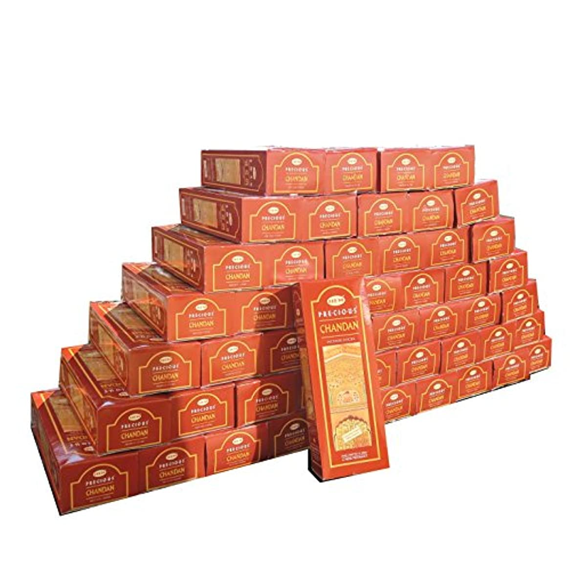 防腐剤伝えるずんぐりした業務用 インドスティック形お香 プレシャスチャンダン 300箱入り