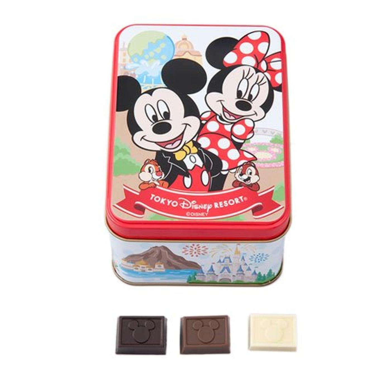 ステレオゲートウェイ主人ミッキーマウス ミニーマウス 缶入りチョコレート お菓子 お土産【東京ディズニーリゾート限定】