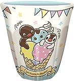ティーズファクトリー Wプリントメラミンカップ ピングー/アイスクリーム 250ml PI-5525211IC