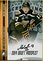 Hockey NHL 2014–15in the Gameドラフトprospects Autographs # a-ml1Maxim Lazarev自動