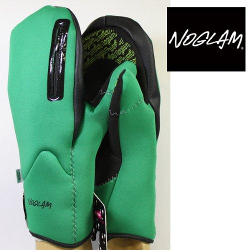 ノーグラム スノーボード グローブ NOGLAM ノーグラム 13-14 VENIXミトン グリーン ノーグラム グローブ M