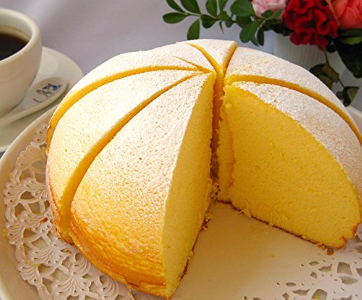 付き添い人仕出します修道院プラーチド チーズケーキ ふわふわ フロマージュ まんまるお月様みたいな ケーキ 洋菓子 (4号)