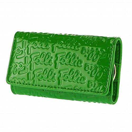 (フォリフォリ)Folli Follie キーケース LOGOMANIA KEYHOLDER WA0L034SE GRN グリーン 取寄商品 [並行輸入品]