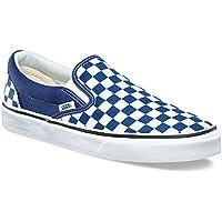【VANS】CLASSIC SLIP-ON CHECKERBOARD ESTATE BLUE/TRUE WHITE バンズ スリッポン