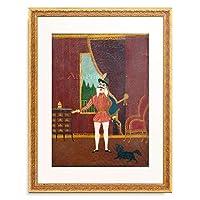 アンリ・ルソー Henri Julien Felix Rousseau 「Le petit chevalier, Don Juan」 額装アート作品