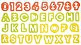 タイガークラウン クッキー抜アルファベット&数字 751