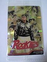 62円 週刊少年ジャンプ 50周年ウエハース 18 ルーキーズ ROOKIES ジャンプ展 カード シール キラ