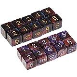 P Prettyia 約20個 6面 ダイス サイコロ テーブルゲーム用