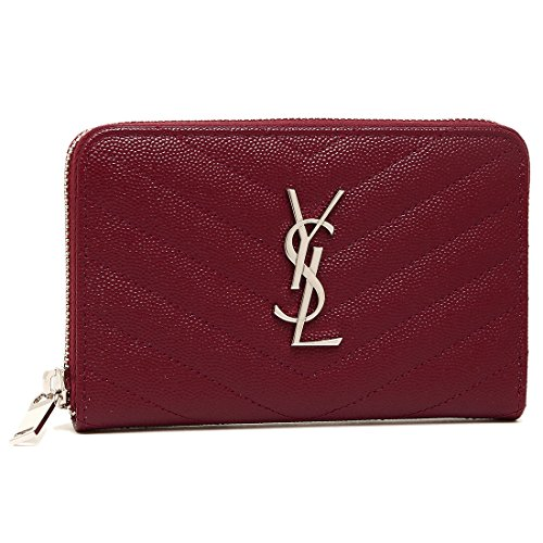 [サンローラン] 財布 レディース SAINT LAURENT PARIS 481407 BOW02 6219 レッド [並行輸入品]