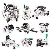 スペースロボット 7種類に変形 親子ふれあい ロボットキット 自由研究・夏休み・工作キット・小学生・理科 電気工作