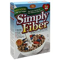 Benefit Nutrition Simply Fiber, All Natural Crunchy O's 8.5-Ounce Boxes (Pack of 6)