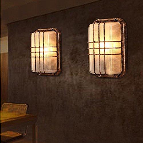 Fuloon ブラケットライト 壁付け照明 工業風 ウォールランプ インダストリアル感 電球別売 レトロ 照明器具 (仕様2)