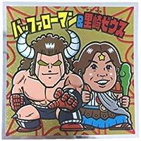 ロッテ 肉リマン チョコ シール ステッカー 赤コーナー No.022 バッファローマン&里崎ゼウス