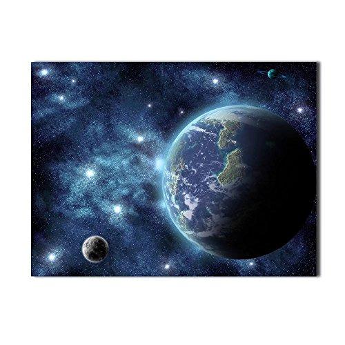 レモンツリーART キャンバスアートパネル アートフレーム キャンバスフレーム アートパネル キャンバス絵画 衛星写真 自然 風景画 宇宙 地球 星空 銀河 インテリア装飾品 壁飾り 壁掛け絵画 部屋飾り、新築お祝いに最適(60x40cmx1パネル/セット)