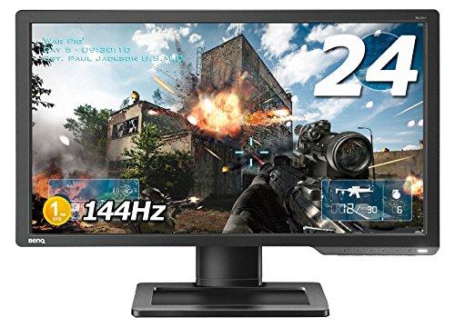 BenQ ゲーミングモニター ディスプレイ ZOWIE XL2411 24インチ/フルHD/HDMI,VGA,DVI端子/144Hz/1ms