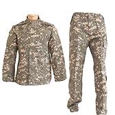 迷彩服 戦闘服 迷彩 ACU 上下セット ジャケット&パンツセット UCP Sサイズ サバゲー/アウトドア