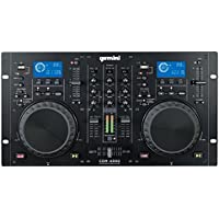 GEMINI MP3 / CD DJ ワークステーション デュアルCDJ PLAYER+MIXER CDM-4000