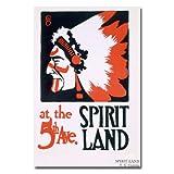 商標FineアートSpirit Land by FGクーパーキャンバス壁アート 30 by 47-Inch BL00427-C3047GG