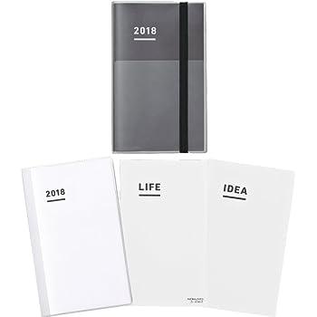 コクヨ ジブン手帳 mini ファーストキット 2018年 11月始まり B6スリム ブラック ニ-JFM1D-18