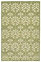 Five Seasons Collection Green Rug (2'1 x 4') [並行輸入品]