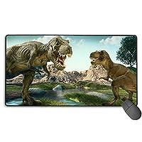Dinosaur Park 恐竜 ソードアート?オンライン Sword Art Online マウスパッド 多用途の Mouse Pad 大型 Fpsゲーム コンピューター 低反発 ゲーム専用 A2 キーボード用 75X40X0.3Cm