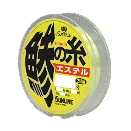 サンライン(SUNLINE) エステルライン ソルティメイト 鯵の糸 240m 0.3号 1.5lb