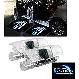 ZNYLSQ カーテシライト ドアウェルカムライト カーテシランプ レーザーロゴライト 50系 30系 トヨタ プリウス LEDロゴ投影 カーテシランプ 2個セット(For Toyota Prius)