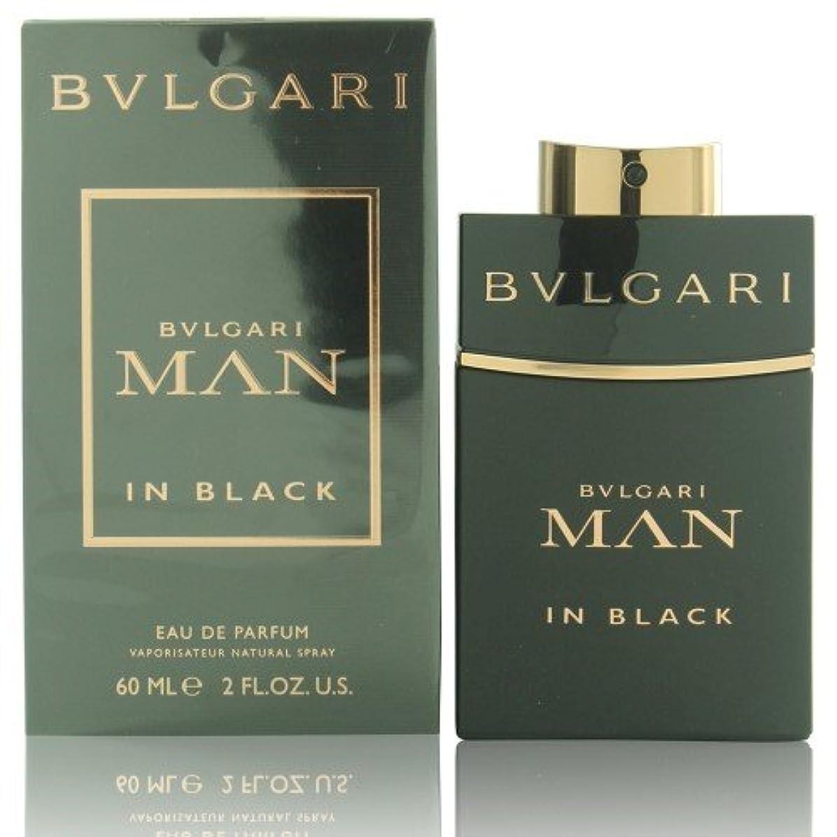 レガシーリットル病的ブルガリ(BVLGARI) マン イン ブラック オードパルファム スプレー 100ml[並行輸入品]