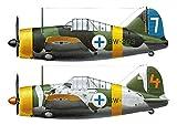 ハセガワ 1/72 フィンランド空軍 B-239 バッファロー エーセスコンボ パート2 プラモデル 02229