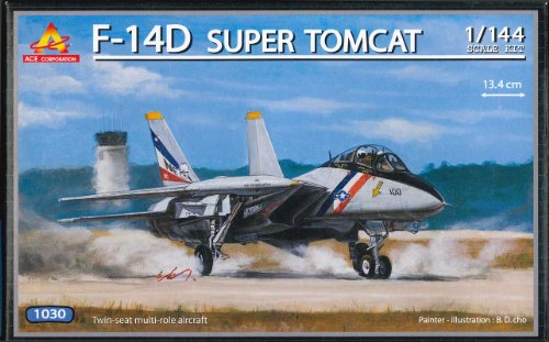 エースコーポレーション 1/144 F14D スーパートムキャット プラモデル