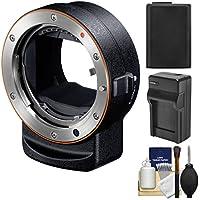 Sonyアルファla-ea3アダプタ(アタッチa-mountレンズto e-mountフルフレームカメラ) with np-fw50バッテリー&充電器+キット
