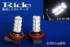 スイフトスポーツRIDE爆連 純正フォグH11用LEDバルブ3chip36発