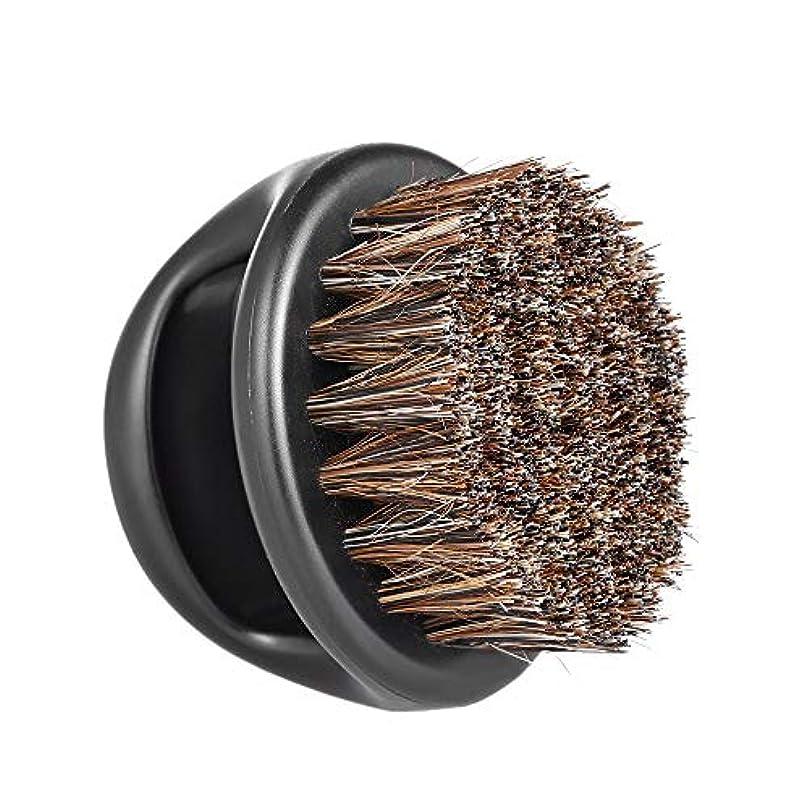 セクションバルク怖がって死ぬMen's Beard Brush Facial Hair Comb Barber Neck Face Duster Hair Sweep Brush Mustache Shaving Brush for Hairdressing...