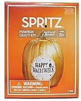 Spritz Pumpkin Craft Decorating Kit ~ Burlap Happy Halloween Linen project [並行輸入品]