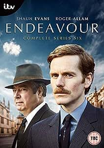 Endeavour Series 6/新米刑事モース シリーズ6 オックスフォード事件簿≪英語のみ≫ [PAL-UK] [2019]