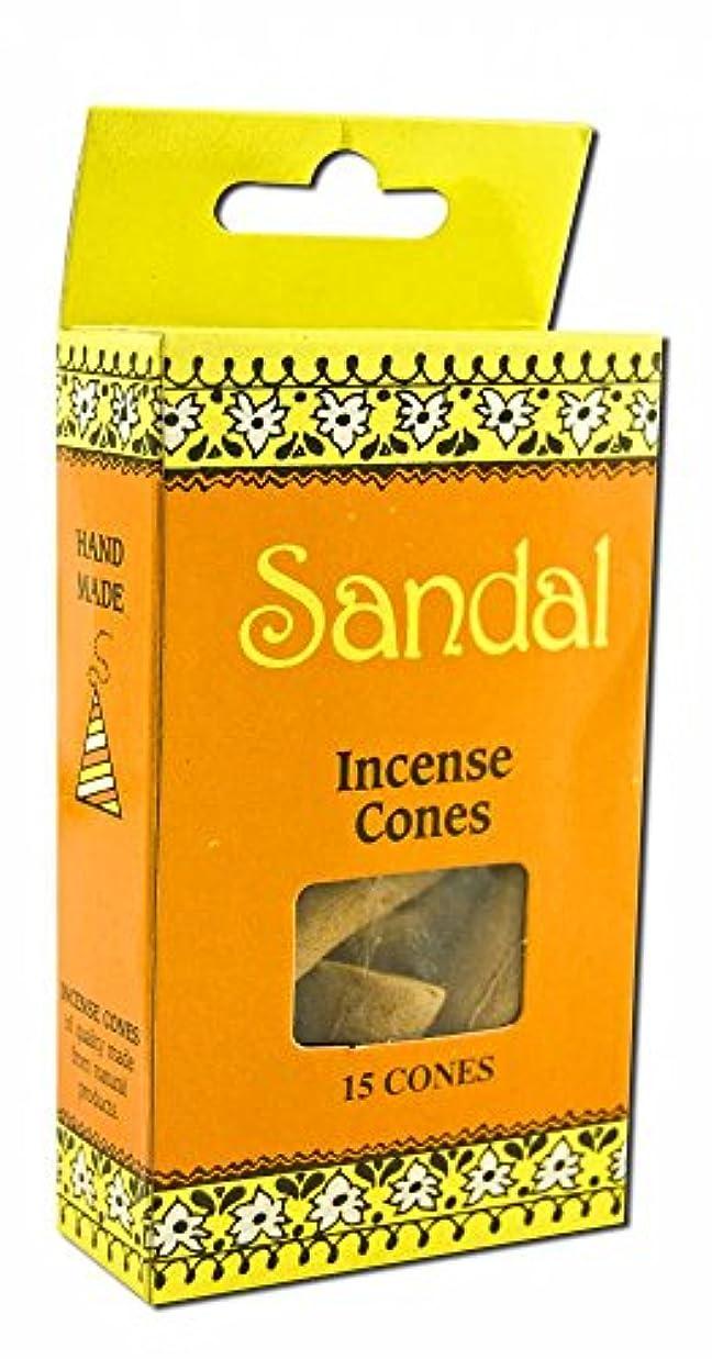 オーロビンド?ゴーシュAshram Sandalwood Incense Cones