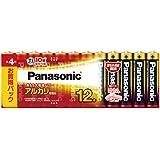 パナソニック 単4形アルカリ乾電池 12本パック LR03XJ/12SW