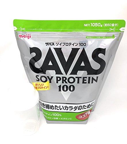 ザバス SAVAS ソイプロテイン ココア 1050g (景...