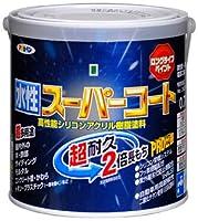 アサヒペン ペンキ 水性スーパーコート 水性多用途 ブラウン 0.7L