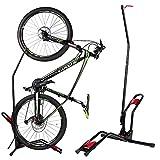 室内用 自転車スタンド 縦置き 横置き クランクストッパースタンド 自転車 ディスプレイスタンド 縦置き ブラック