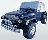 Rugged Ridge キャブカバー(耐水性タイプ) グレイ YJラングラー/TJラングラー 1992-2006年モデル
