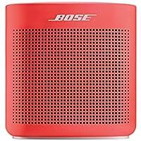 Bose SoundLink Color Bluetooth speaker II ポータブルワイヤレススピーカー コーラルレッド